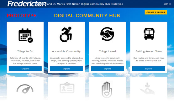 Digital Community Hub