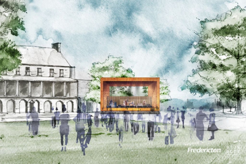 city unveils conceptual design for officers square performance stage - Conceptual Design House