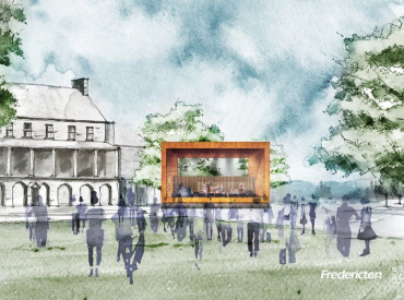 Conceptual Design for new performance stage in Officers' Square